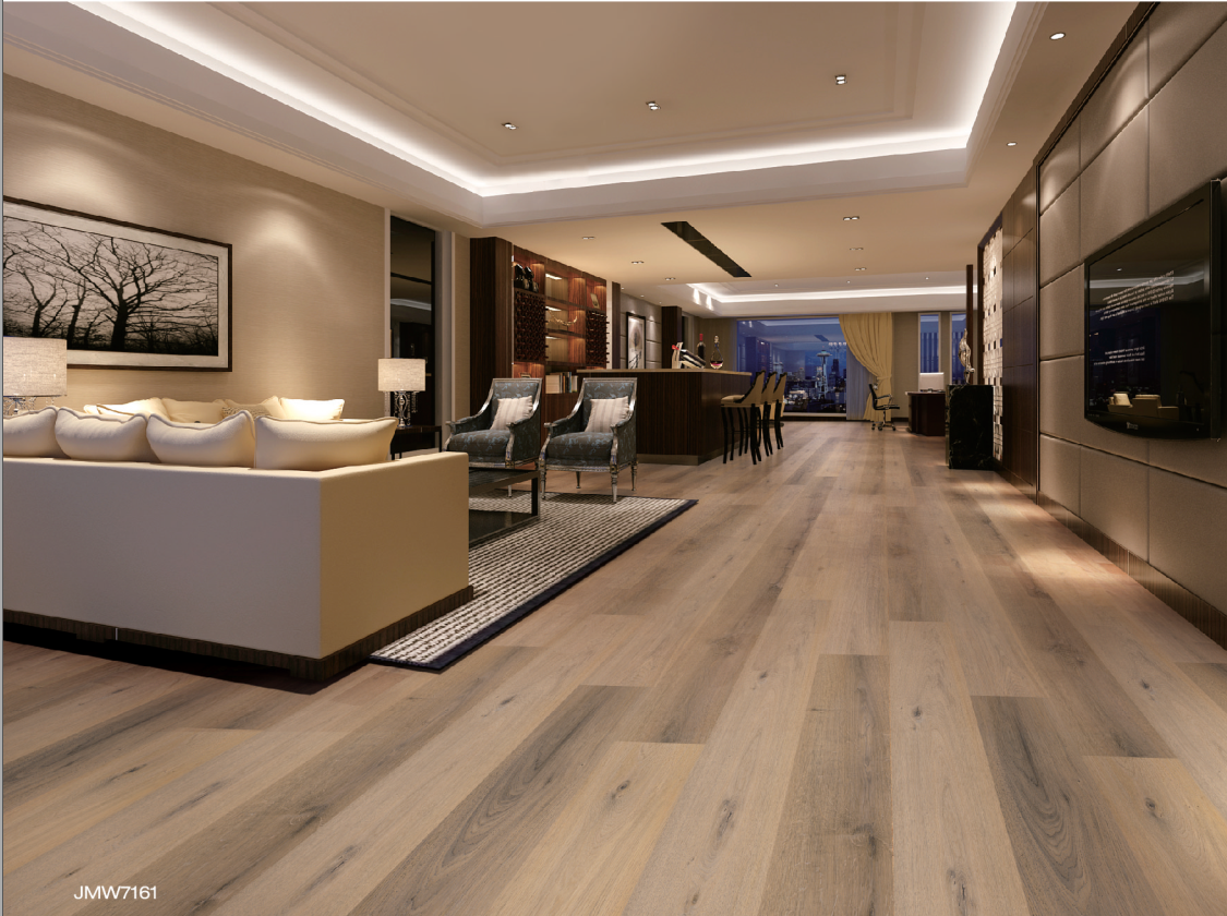 Rigid core click vinyl flooring contemporary oak